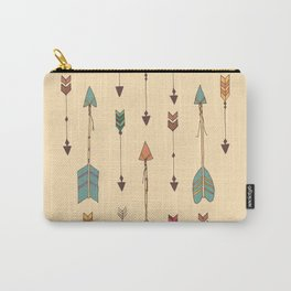 Bohemian hand drawn arrows, 01 Carry-All Pouch