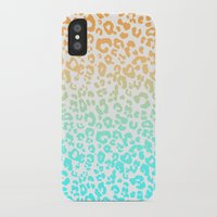 leopard iPhone & iPod Cases featuring LeopARD by Monika Strigel