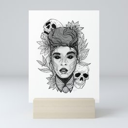 Sincerely, Jane: Suite II Grayscale Overture Mini Art Print