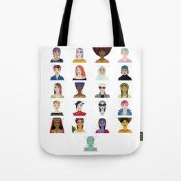21 Women Tote Bag