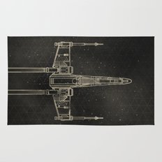X-Wing Fighter Rug
