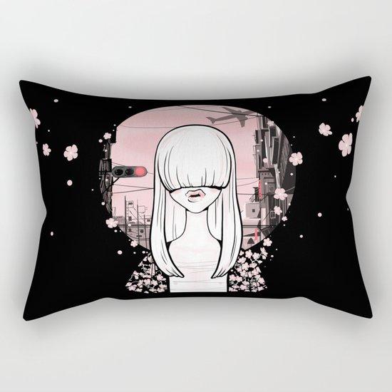 invisible girl Rectangular Pillow