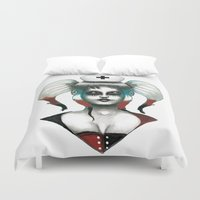 harley Duvet Covers featuring Harley ! by Alejandro Dayer