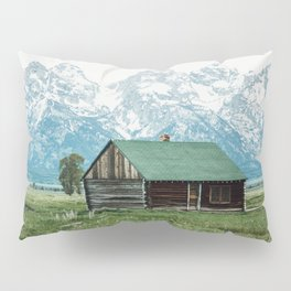 Teton Cabin Pillow Sham