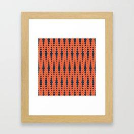 Blobby Squibbles Framed Art Print