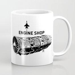 ENGINE SHOP - F16 Coffee Mug