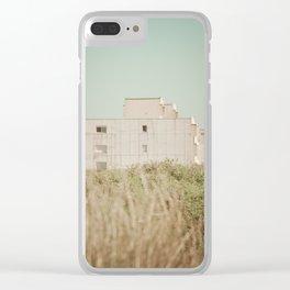 Beach dune miniature 3 Clear iPhone Case