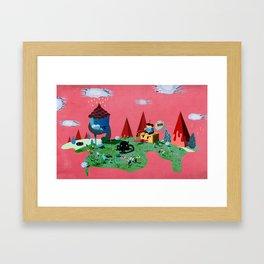 Fun World Framed Art Print