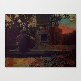 """Burn"" by Ray Lamontagne Canvas Print"