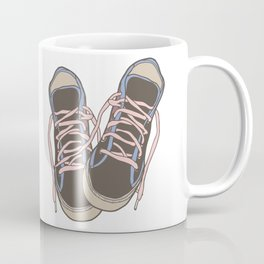 Trainers or Sneakers Illustration Coffee Mug