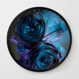 The Modern Rose Bunch Wall Clock