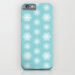 Frosty Snowflakes iPhone Case
