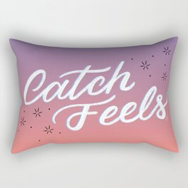 Catch Feels - Sunset Palette Rectangular Pillow
