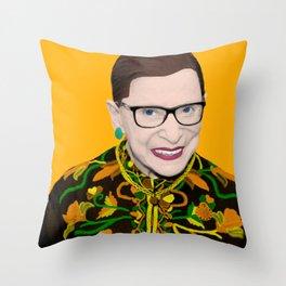 Orange RBG Throw Pillow