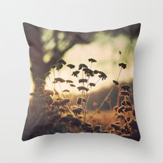 Days blur into one Throw Pillow