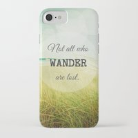 wander iPhone & iPod Cases featuring Wander by Olivia Joy StClaire