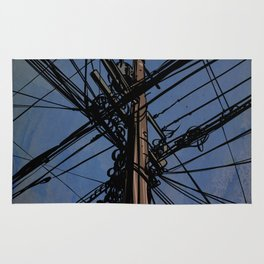 wires 02 Rug