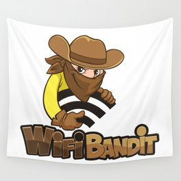 WiFi Bandit Wall Tapestry