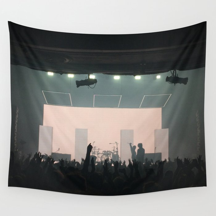 1975 concert Wall Tapestry