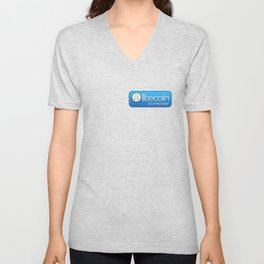 Accepted here: Litecoin Unisex V-Neck