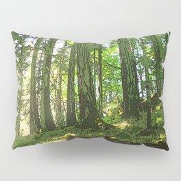SUNNY SUMMER FOREST Pillow Sham