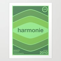 harmonie single hop Art Print