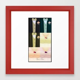 Equal Marriage Framed Art Print