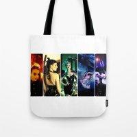 pride Tote Bags featuring Pride by Danielle Tanimura