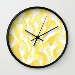 #29. NATALIA - Hands Wall Clock