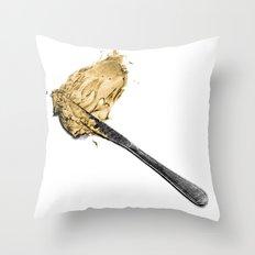 Peanut Butter Throw Pillow