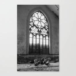 The Ghostly Gathering Canvas Print