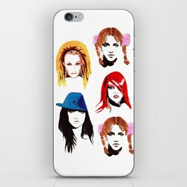 Britney Spears Look Book iPhone Skin