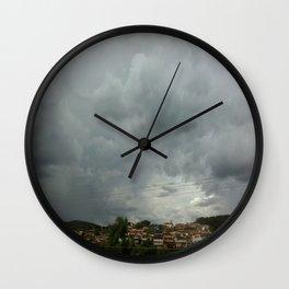 Cleft Wall Clock