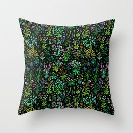 Medieval Spring Throw Pillow