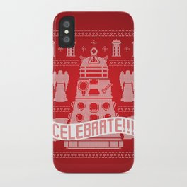 DAL-ECK The Halls iPhone Case