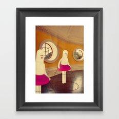 m a n i k i n i Framed Art Print
