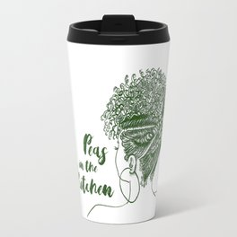Peas in the Kitchen Travel Mug
