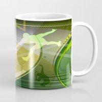 tennis Mugs featuring Tennis by Robin Curtiss