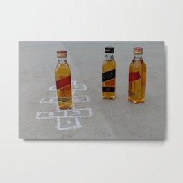 Hop Scotch Metal Print