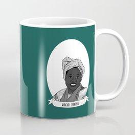 Wangari Maathai Illustrated Portrait Coffee Mug