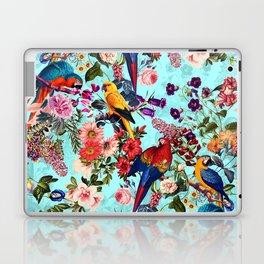 Floral and Birds XI Laptop & iPad Skin