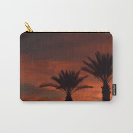 Palm Sunset - II Carry-All Pouch