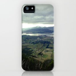 Tasmania's rural & mountainscape Scenery iPhone Case