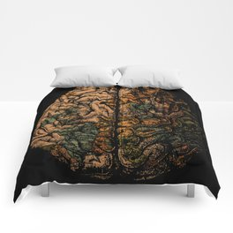 Always On My Mind - Brain Traveling Wanderlust Love Travel Comforters