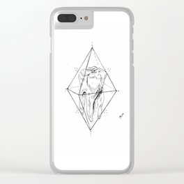 Tooth Prism Clear iPhone Case