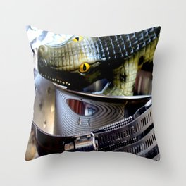 Eye Yai Yai Throw Pillow