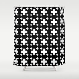 Jerusalem Cross 3 Shower Curtain