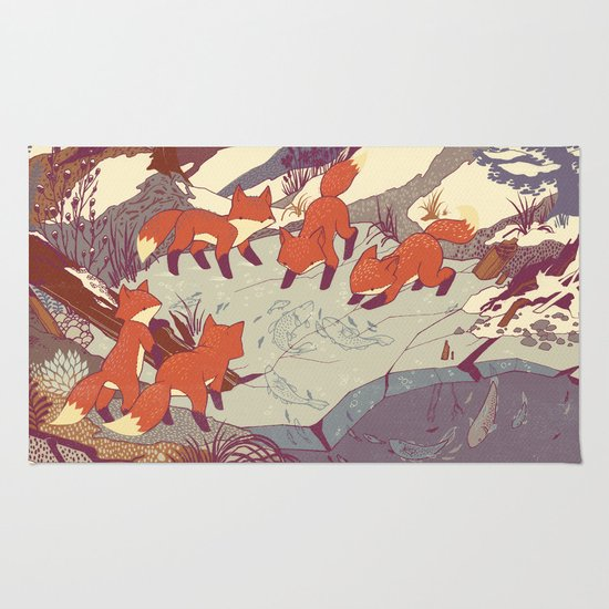 Fisher Fox Rug