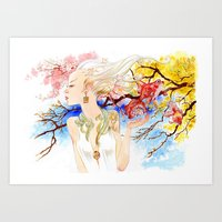 Le printemps (Spring) Art Print