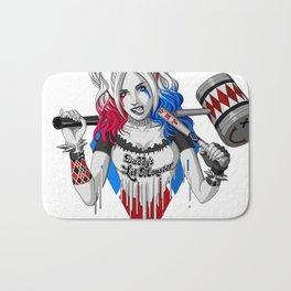 Harley Quinn Armed Bath Mat